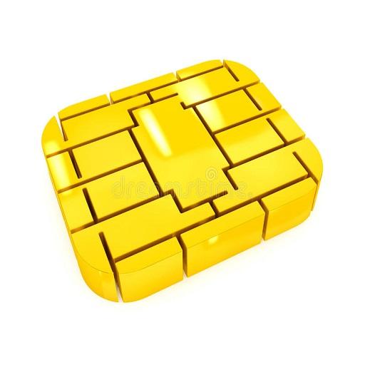 golden-sim-credit-card-microchip-white-background-48397968.jpg